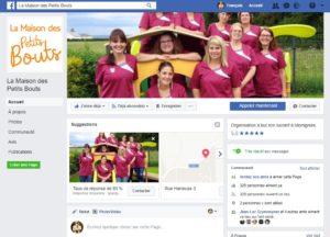Printscreen facebook la maison des petits bouts